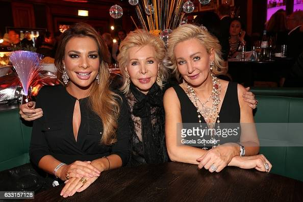 Ute Ohoven and her daughters Chiara Ohoven and Claudia Jerger during the Lambertz Monday Night 2017 at Alter Wartesaal on January 30 2017 in Cologne...