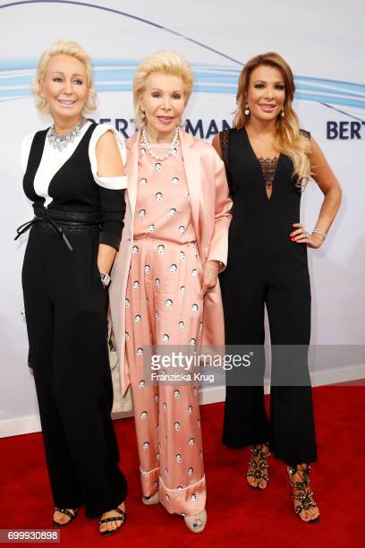 Ute Ohoven and her daughters Claudia Jerger and Chiara Ohoven attend the 'Bertelsmann Summer Party' at Bertelsmann Repraesentanz on June 22 2017 in...