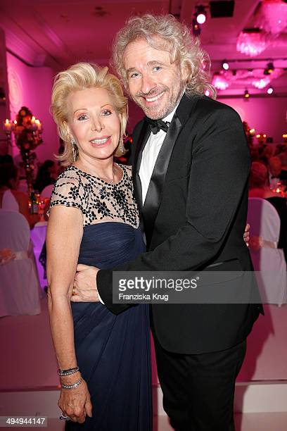 UteHenriette Ohoven and Thomas Gottschalk attend the Rosenball 2014 on May 31 2014 in Berlin Germany