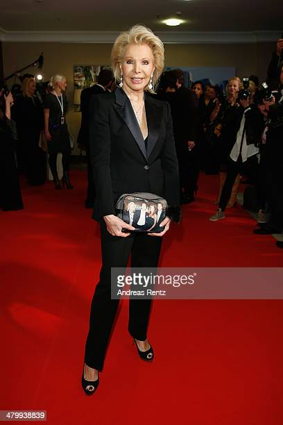 UteHenriette Ohoven attends the GLORIA German Cosmetic Award at Hilton Hotel on March 21 2014 in Duesseldorf Germany