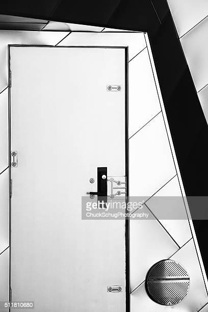 Utility Door Doorframe Building Facade Siding