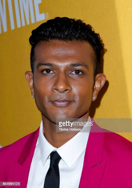 Utkarsh Ambudkar attends the premiere of Showtime's 'White Famous' at The Jeremy Hotel on September 27 2017 in West Hollywood California