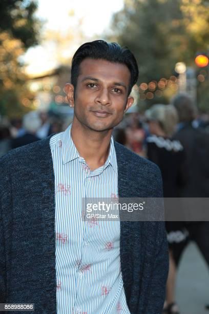 Utkarsh Ambudkar is seen on October 7 2017 in Los Angeles CA