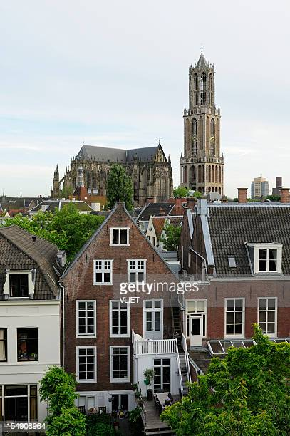 Utrecht in the Netherlands with Dom church