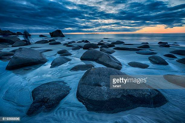 Uttakleiv Beach, Evening Mood, Lofoten, Norway
