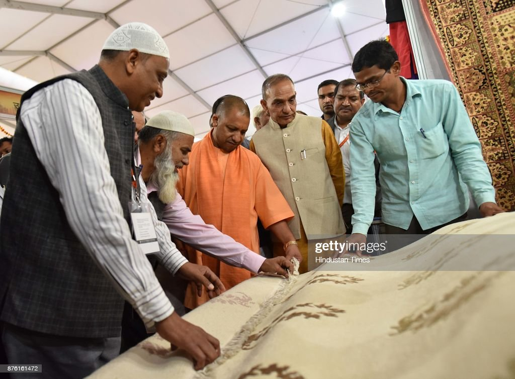 Uttar Pradesh Chief Minister Yogi Adityanath Visits Ongoing India International Trade Fair