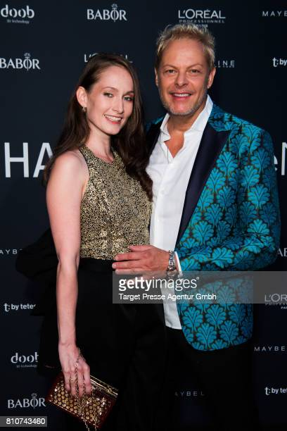 Uwe FahrenkrugPetersen and his wife Fee attend the MICHALSKY StyleNite during the MercedesBenz Fashion Week Berlin Spring/Summer 2018 at eWerk on...