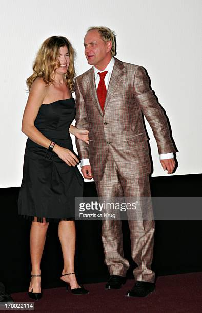 Uwe Ochsenknecht And Anke Engelke at The Premiere 'From Search And Find The Love' In Mathäser cinema in Munich 190105
