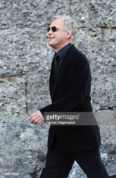 Uwe Ochsenknecht attends the memorial service for Bernd Eichinger at the St Michael Kirche on February 07 2011 in Munich Germany Producer Bernd...