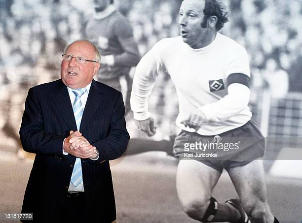 Uwe Seeler attends his 75th Birthday celebration at Imtech Arena on November 5 2011 in Hamburg Germany