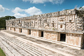 Uxmal archeological site, mayan ruins in yucatan, mexicoUxmal archeological site, mayan ruins in yucatan, mexico