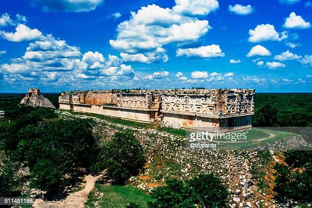 Uxmal mayan city