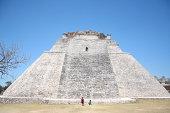 Mayan pyramid in the Yucatan.