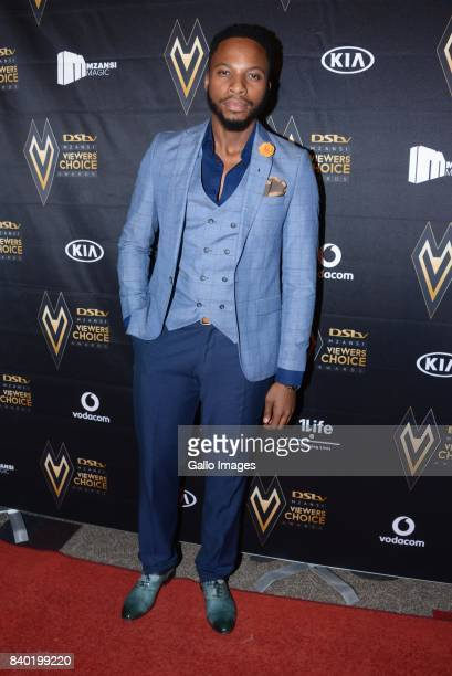 Uzalo actor Naymaps Maphalala during the DStv Mzansi Viewers Choice Awards event at the Sandton Convention Centre on August 26 2017 in Sandton South...