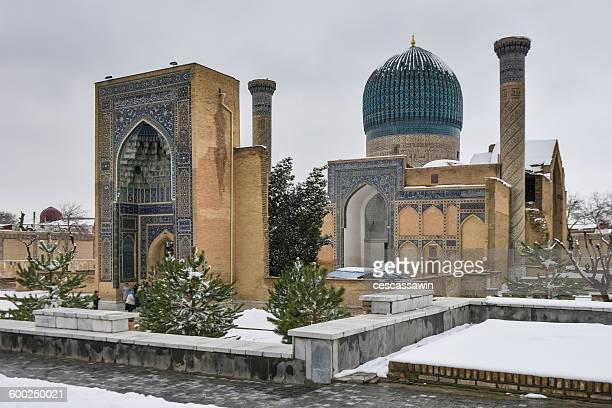 Uzbekistan, Samarkand, Gur Amir mausoleum