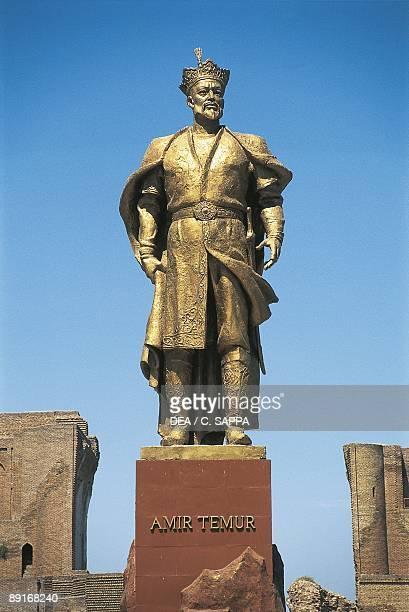Uzbekistan Shakhrisabz Timur Memorial in the Historic Centre UNESCO World Heritage List 2000