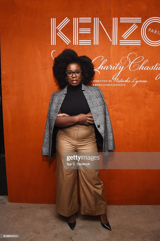 Uzo Aduba attends KENZO, Humberto Leon, Carol Lim And Natasha Lyonne Premiere 'Cabiria, Charity, Chastity' In New York City at Public Arts on September 13, 2017 in New York City.