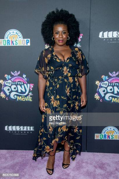 Uzo Aduba attends 'My Little Pony The Movie' New York screening at AMC Lincoln Square Theater on September 24 2017 in New York City