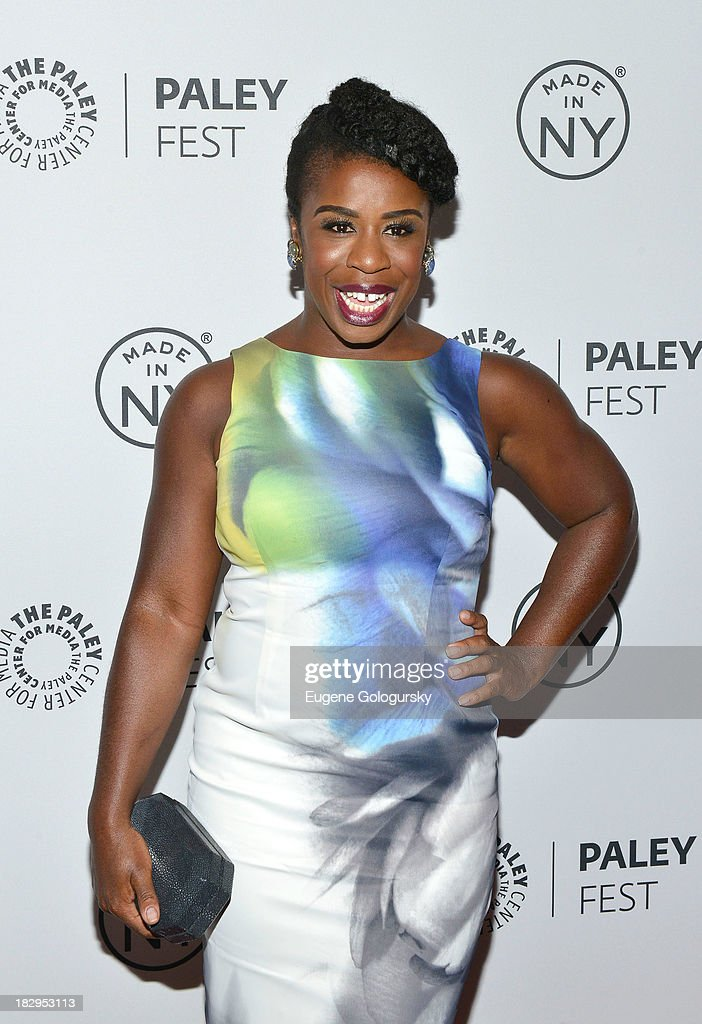 Uzo Aduba attends 'Orange Is the New Black' during 2013 PaleyFest: Made In New York at The Paley Center for Media on October 2, 2013 in New York City.