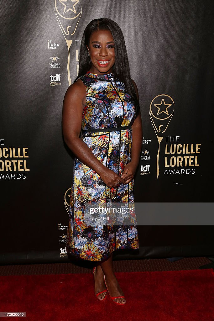 Uzo Aduba attends the 2015 Lucille Lortel Awards at NYU Skirball Center on May 10, 2015 in New York City.