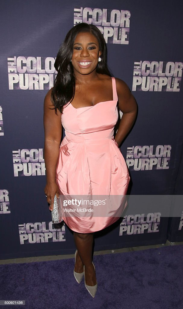 Uzo Aduba attends the Broadway Opening Night Performance of 'The Color Purple' at the Bernard B. Jacobs Theatre on December 10, 2015 in New York City.