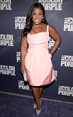 Uzo Aduba attends 'The Color Purple' Broadway opening night at the Bernard B Jacobs Theatre on December 10 2015 in New York City