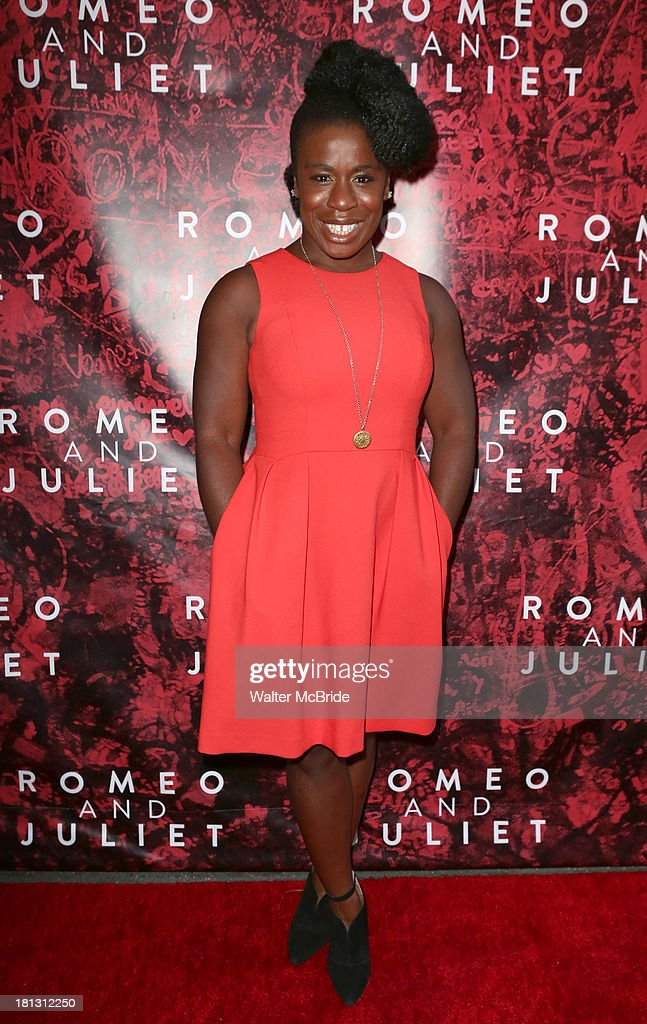Uzo Aduba attends the 'Romeo And Juliet' Broadway Opening Night at Richard Rodgers Theatre on September 19, 2013 in New York City.