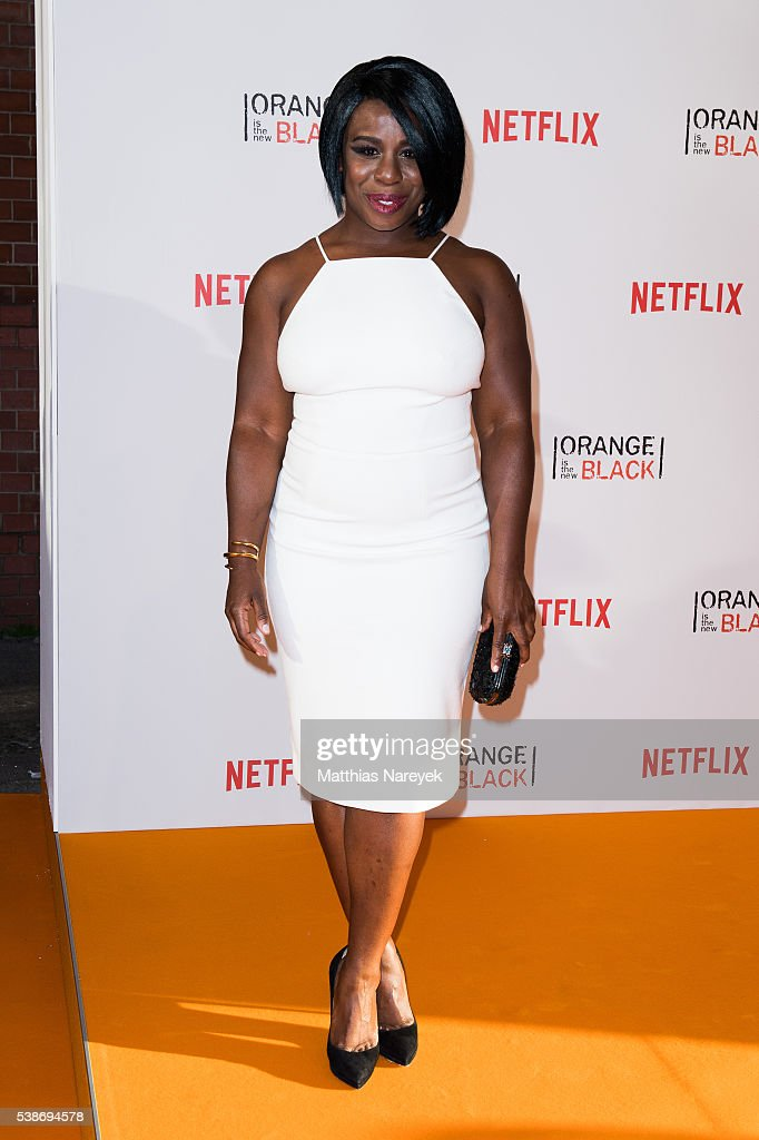 Uzo Aduba during the 'Orange is the New Black' Europe Premiere at Kino in der Kulturbrauerei on June 7 2016 in Berlin Germany