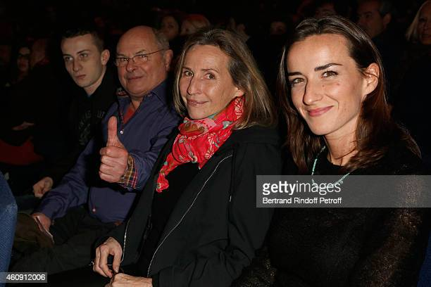 v attend the Laurent Gerra Show at Palais des Sports on December 27 2014 in Paris France