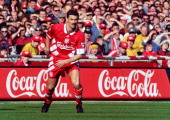 LFC v Bolton Wanderers in the COcacola cup final at Wembley won 21 Ian Rush in action on April 2 1995