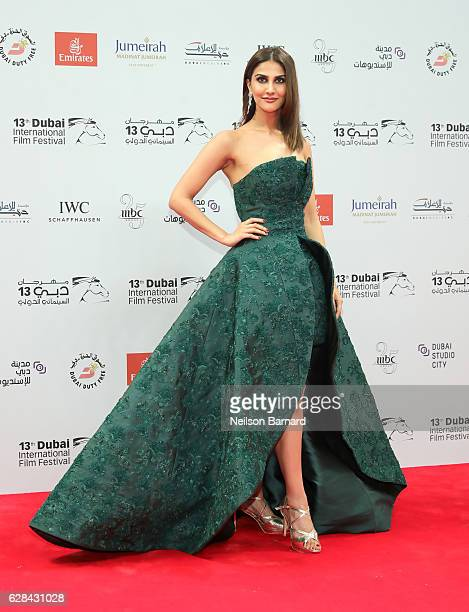 Vaani Kapoor attends the Opening Night Gala during day one of the 13th annual Dubai International Film Festival held at the Madinat Jumeriah Complex...