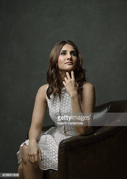 Vaani Kapoor poses at a portrait session during day two of the 13th annual Dubai International Film Festival held at the Madinat Jumeriah Complex on...