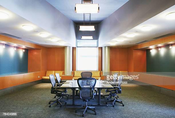 Vacant boardroom