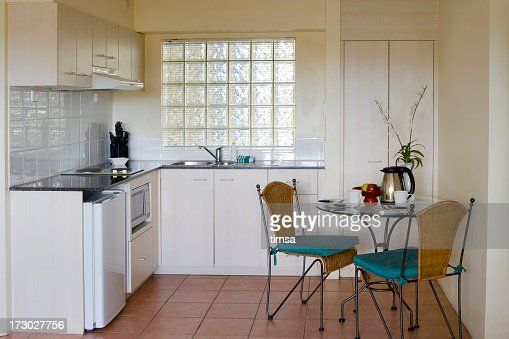 Vacation apartment kitchen