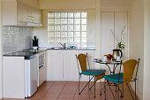 Vacation apartment kitchen