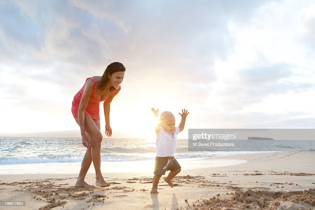 Vacation family fun : Stock Photo