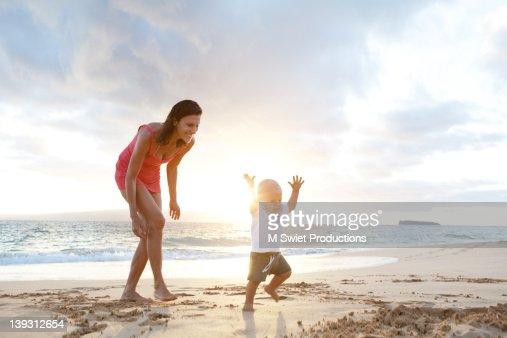 Vacation family fun : Stock Photo