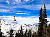 View on Park City Mountain, Utah
