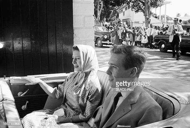 Vacation Of Tony And Margaret Snowdon In Antigua Guatemala Antigua janvier 1962 La princesse MARGARET comtesse de Snowdon et son époux Antony...