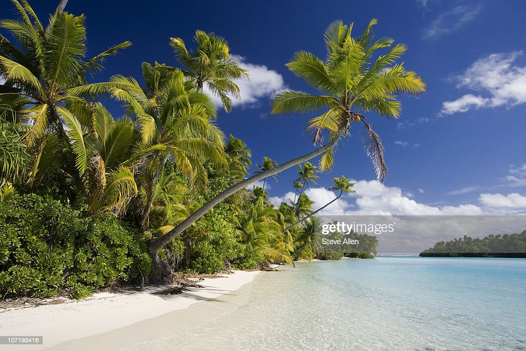 Vacation Paradise - Cook Islands : Stock Photo