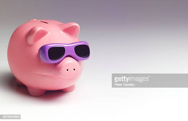 Vacation piggy bank