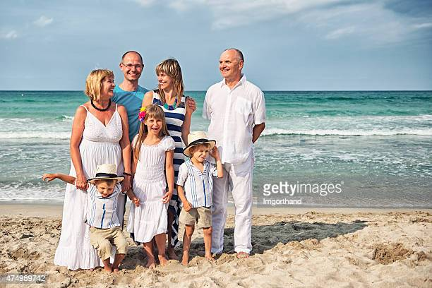 Vacations photo of multi generation family