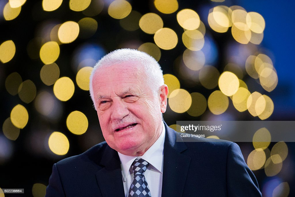 WARSAW POLAND DECEMBER 21 Vaclav Klaus attends the conference 'Sovereignty solidarity security Lech Kaczynski and Central and Eastern Europe' on...