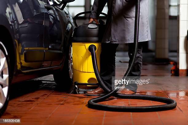 Vakuum Reinigung Auto innen