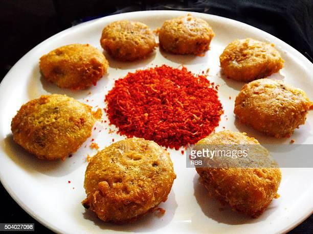 Vada Pav (Indian Snacks)