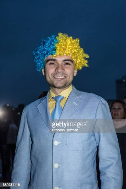 Vadim Gerasymovych from Kiev Ukraine poses for a portrait at the Eurovision Grand Final on May 13 2017 in Kiev Ukraine Ukraine is the 62nd host of...