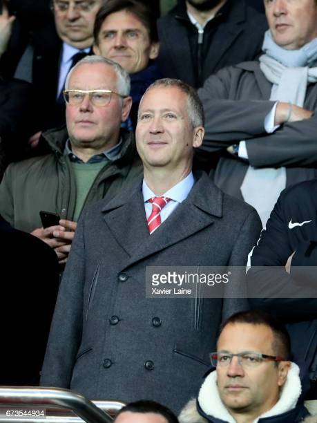 Vadim Vasilyev of AS Monaco attends the French Cup SemiFinal match between Paris SaintGermain and As Monaco at Parc des Princes on April 26 2017 in...