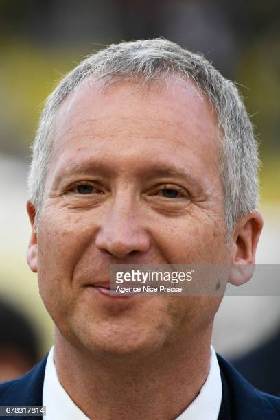 Vadim Vasilyev president of Monaco during the Uefa Champions League match semi final first leg between As Monaco and Juventus FC at Stade Louis II on...