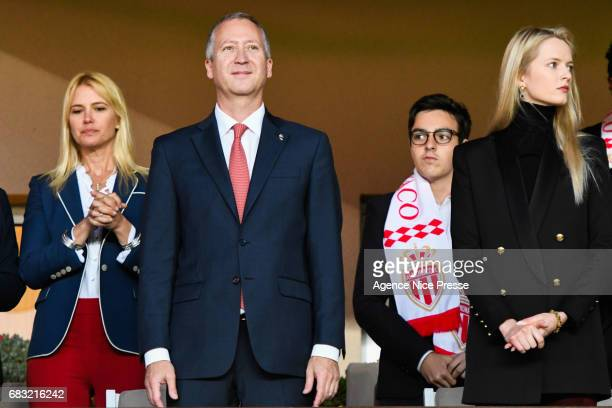 Vadim Vasilyev vice president of Monaco during the Ligue1 match between As Monaco and Lille OSC at Louis II Stadium on May 14 2017 in Monaco Monaco