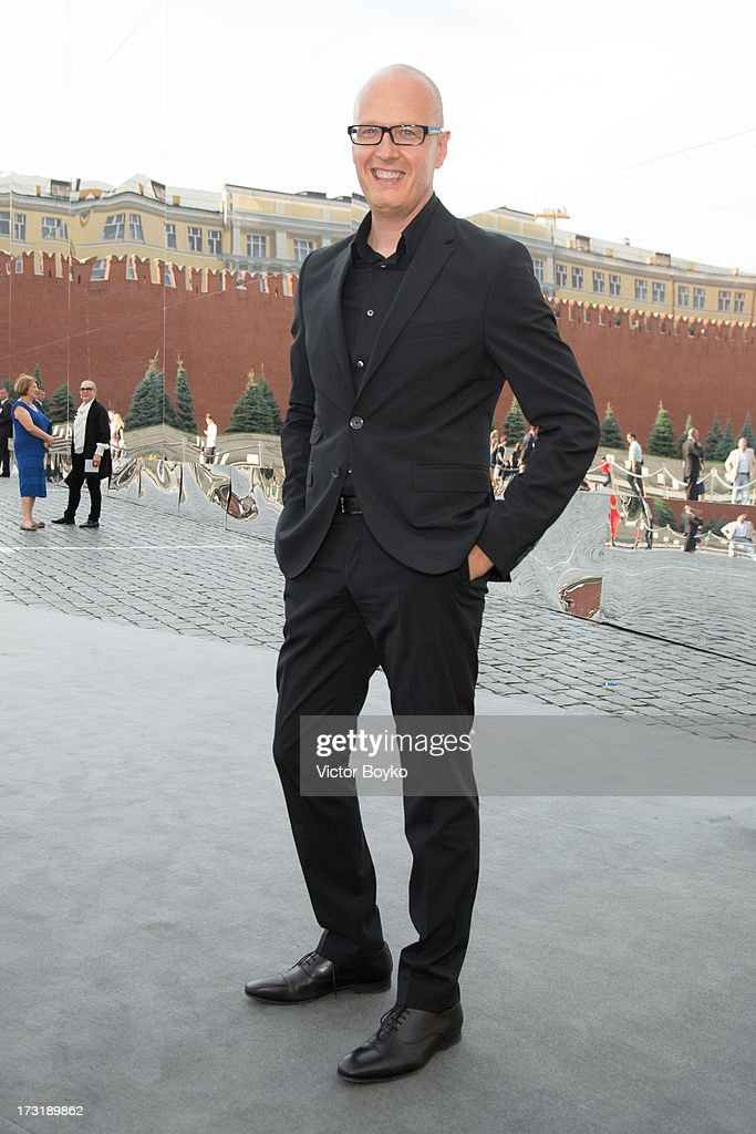 Vadim Vernik attends the Dior A/W 2013-2014 show at Red Square on July 9, 2013 in Moscow, Russia.